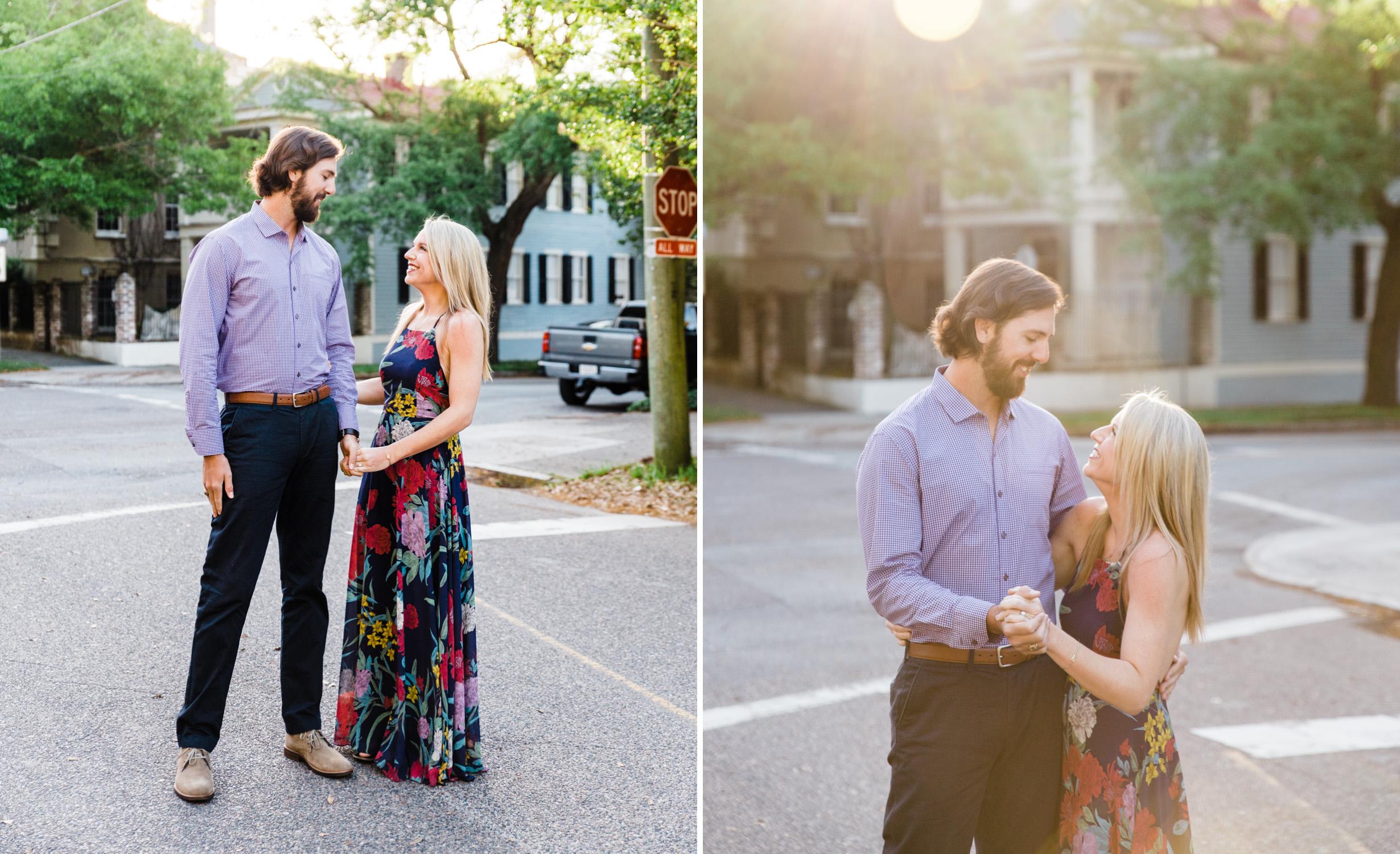 charleston couple photography