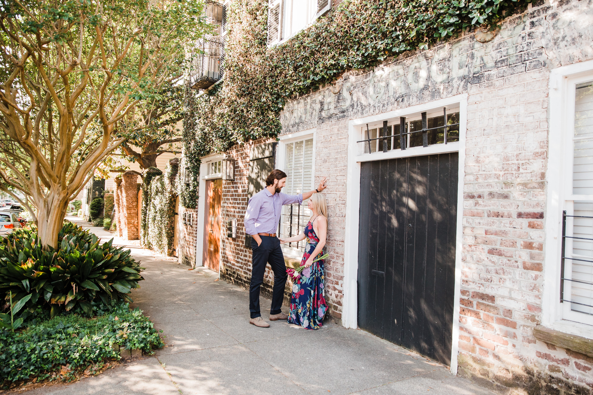 charleston engagement pictures