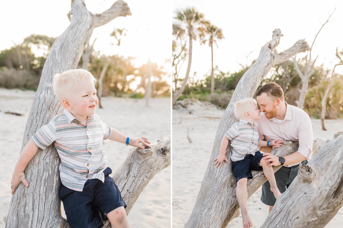 charleston beach family photography
