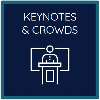 Keynotes and Crowds