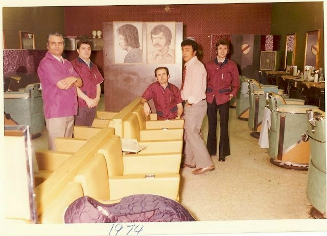 Joseph's oldschool barbers back in the day