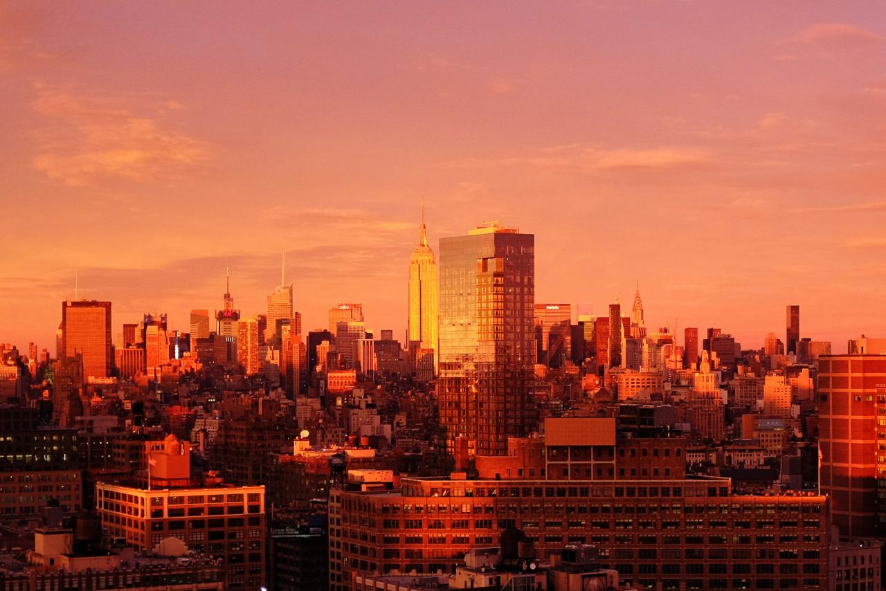 Manhattan Sunset - November 22, 2015