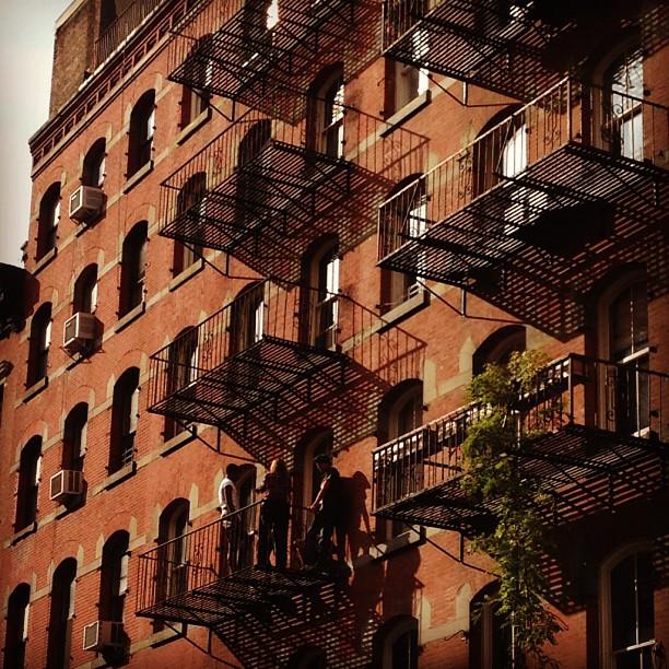 Leonard Street balconies #nyc
