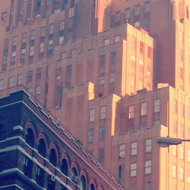 Art Deco angles #nyc