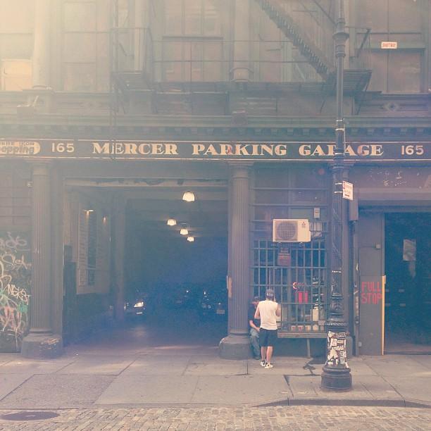 Mercer Street #nyc