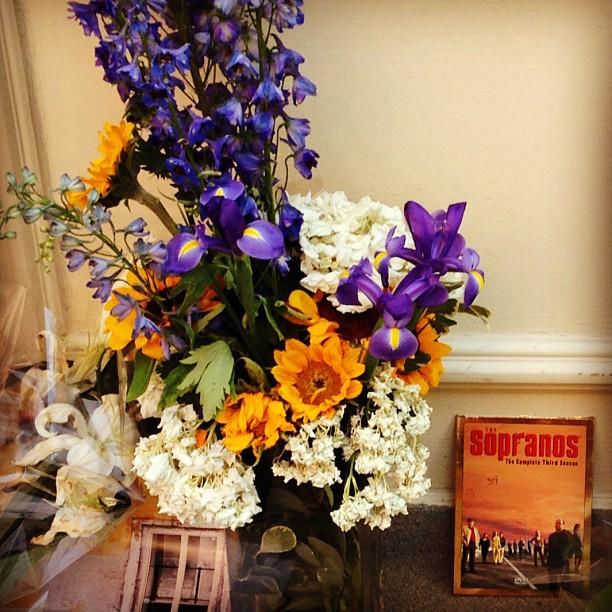 Tribeca remembers James Gandolfini #nyc