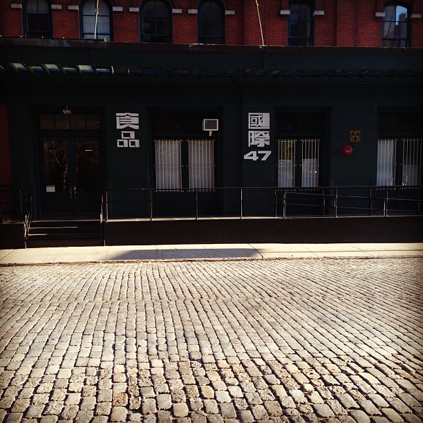 The quiet streets of #tribeca 1 #nyc