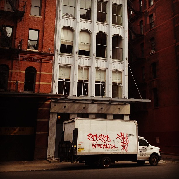 Loft peepin' on Duane #tribeca #nyc #nytvoyage
