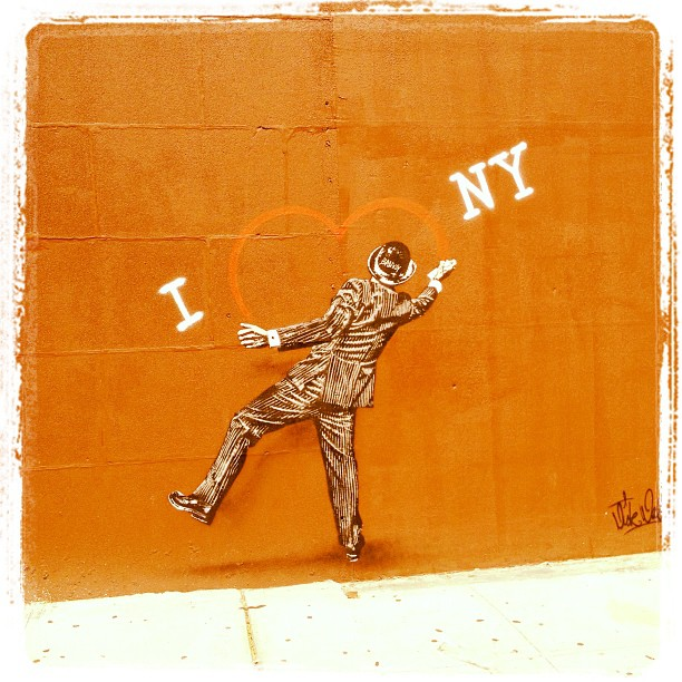 Bansky in NYC ? (Taken with  Instagram )
