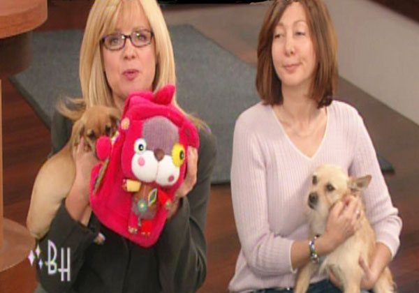 """Actress / talk-show hostess   Bonnie Hunt  had her hands full during her 2009 Earth-Day broadcast of """"  The Bonnie Hunt Show  """" in April when she premiered the newest line of eco awareness products from Pecoware."""