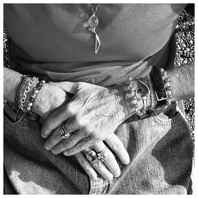 Magician's hands.