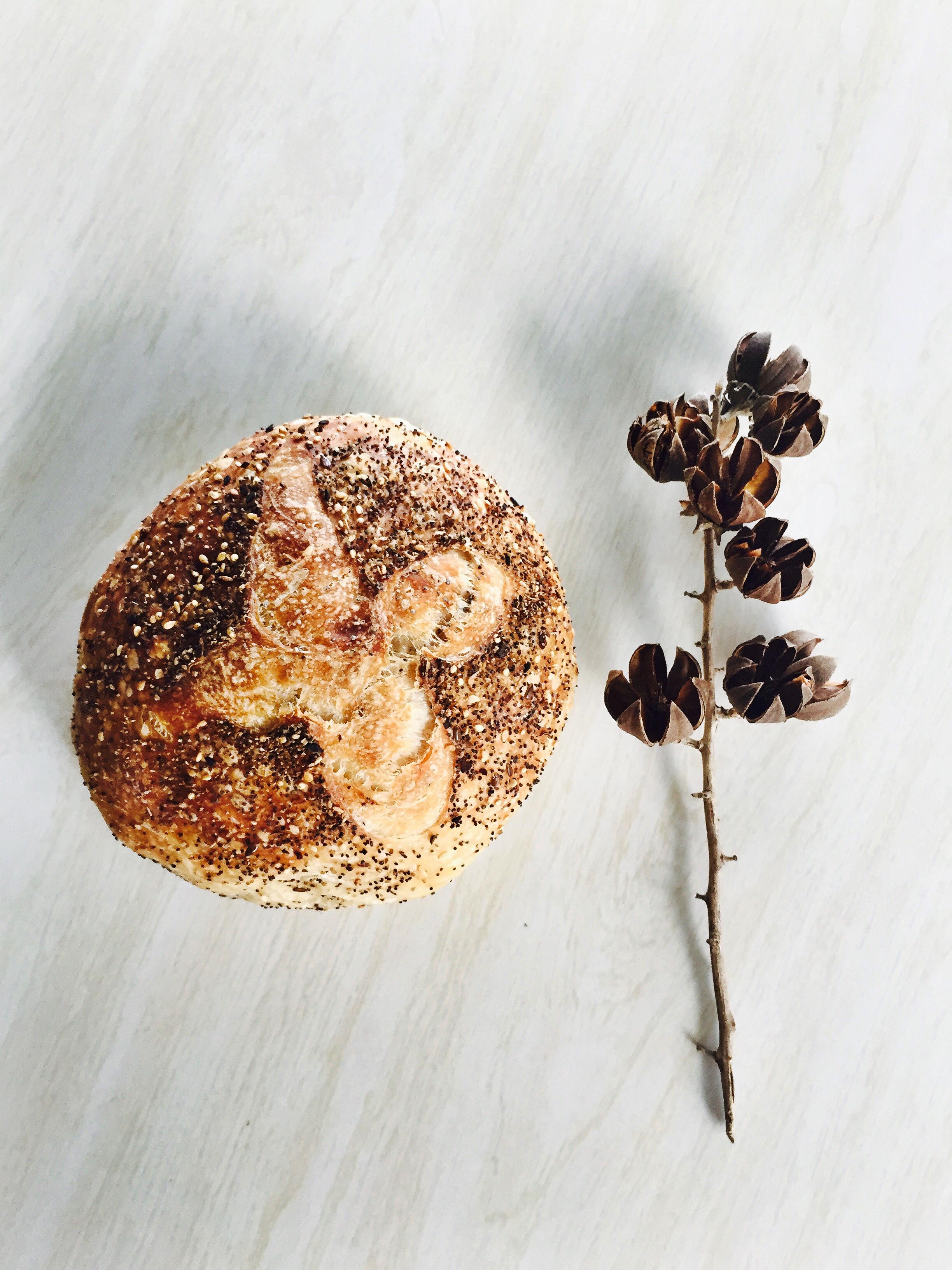 Seed bread recipe from the Full Moon Baking Club, just in time for Spring gatherings.