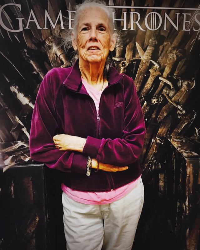 My mom Sandrita of House Targaryen.