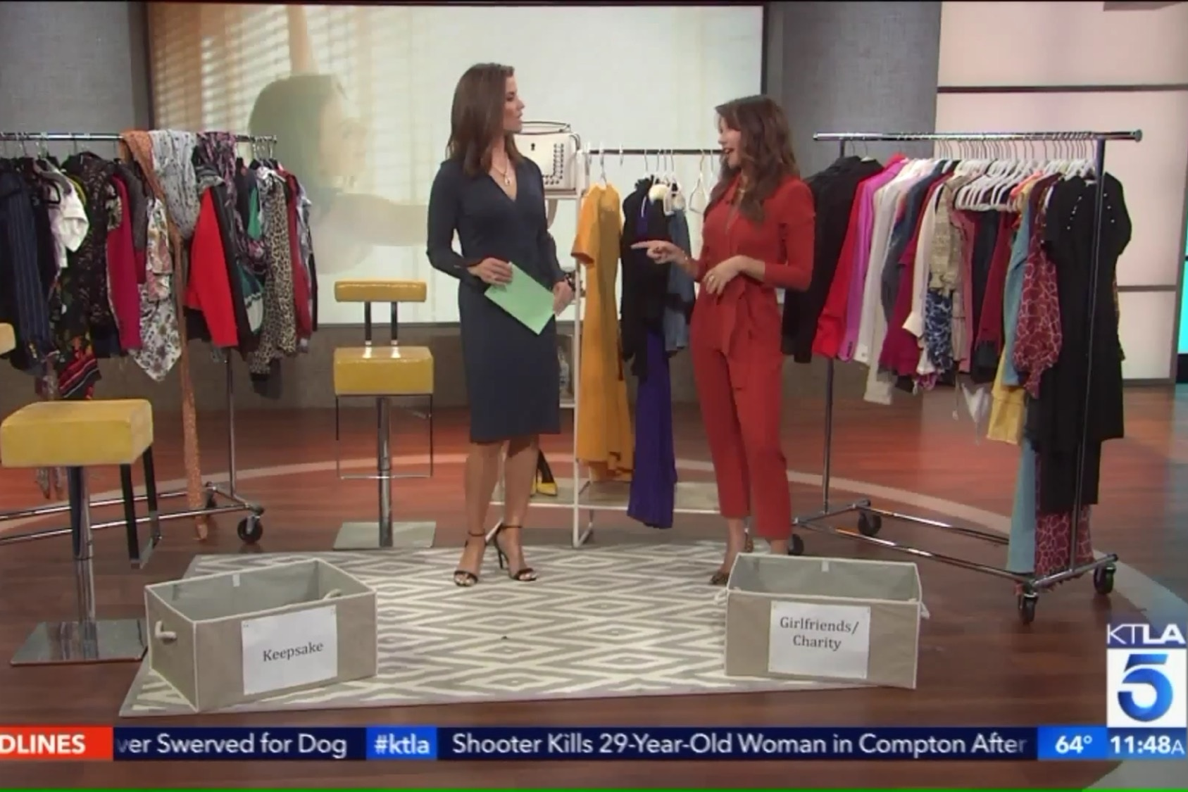 March 27, 2019   Click to watch my KTLA 5 segment:     Organize Your Closet for Spring With Stylist Jennifer Principe