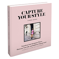 Capture Your Style - A must-have resource for all fashion and beauty bloggers. Aimee Song goes in-depth about the technicalities of Instagram using her own platform and experiences as examples.