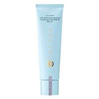 Tatcha Silken Pore Perfectin Sunscreen - I freaking love this sunscreen! It is my favorite for oily skin because it sucks up the extra oils (but doesn't mattify it). The only downside is that it's $65 (!!). If I never find a dupe for this I would buy it over and over again.