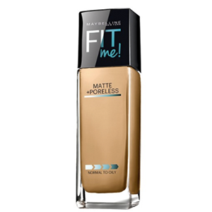 Maybelline Fit Me Matte + Poreless — The Best Primers and Foundation for Oily Skin on beautybyjessika.com.