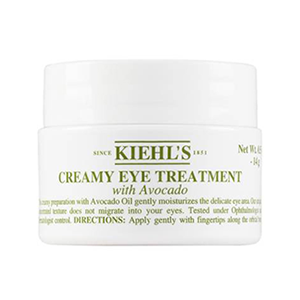 Kiehl's Creamy Eye Treatment With Avocado - I use this eye cream at night to keep my under eyes moisturized because I like to sleep with all of the fans blowing on me.