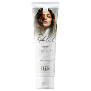 IGK Rich Kid Coconut Oil Gel - This has become my all-time favorite product for short hair. After washing my hair, I take a small amount of product, run it through the ends of my hair and scrunch the ends upward to build texture then air dry.