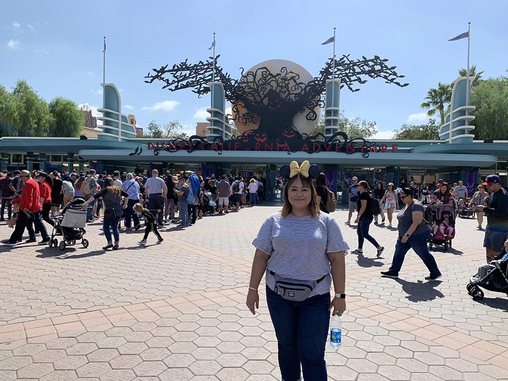10/08/18 — Oogie Boogie at Disney's California Adventure.