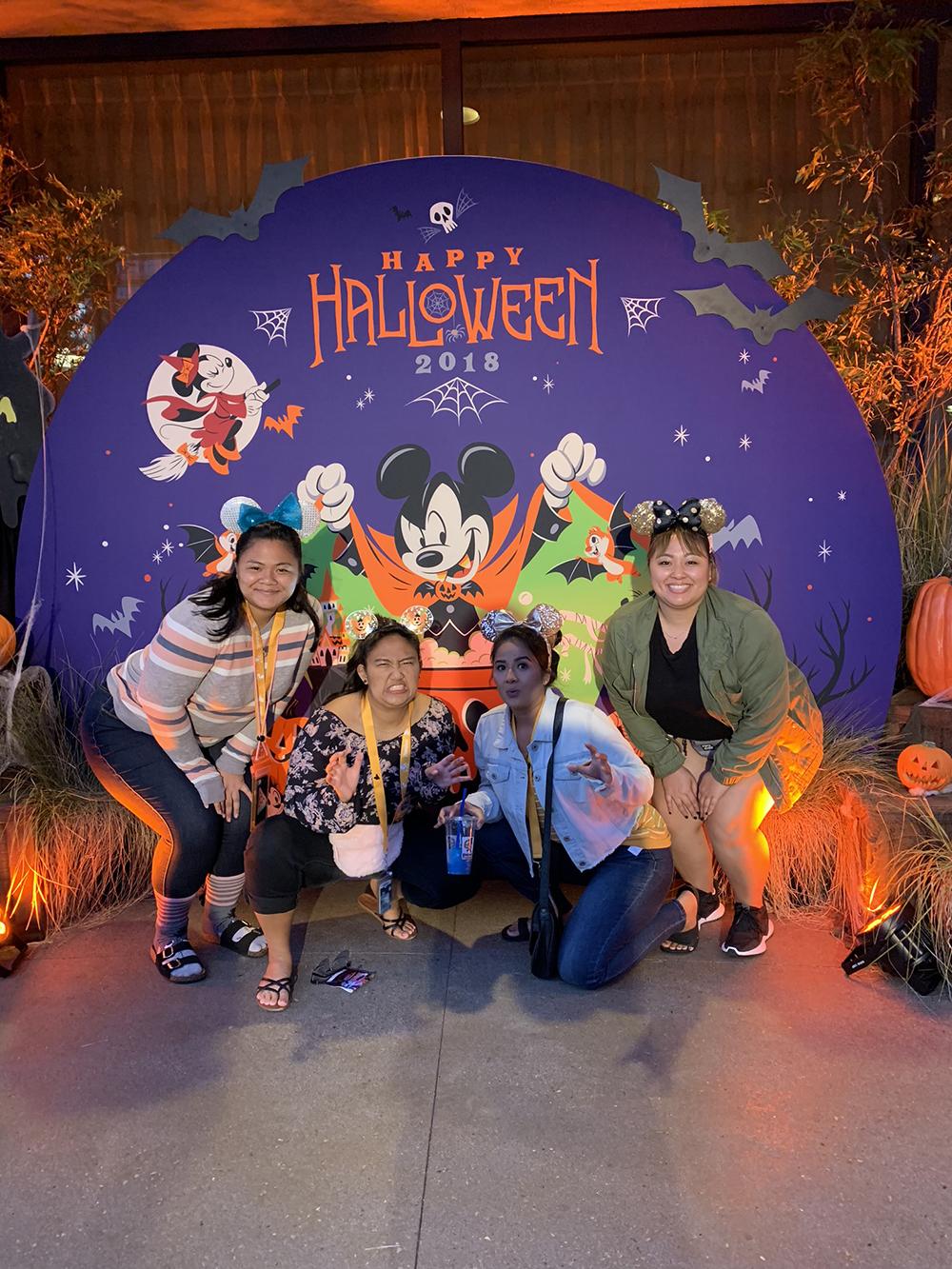 10/09/18 — The Garcia girls in Downtown Disney.