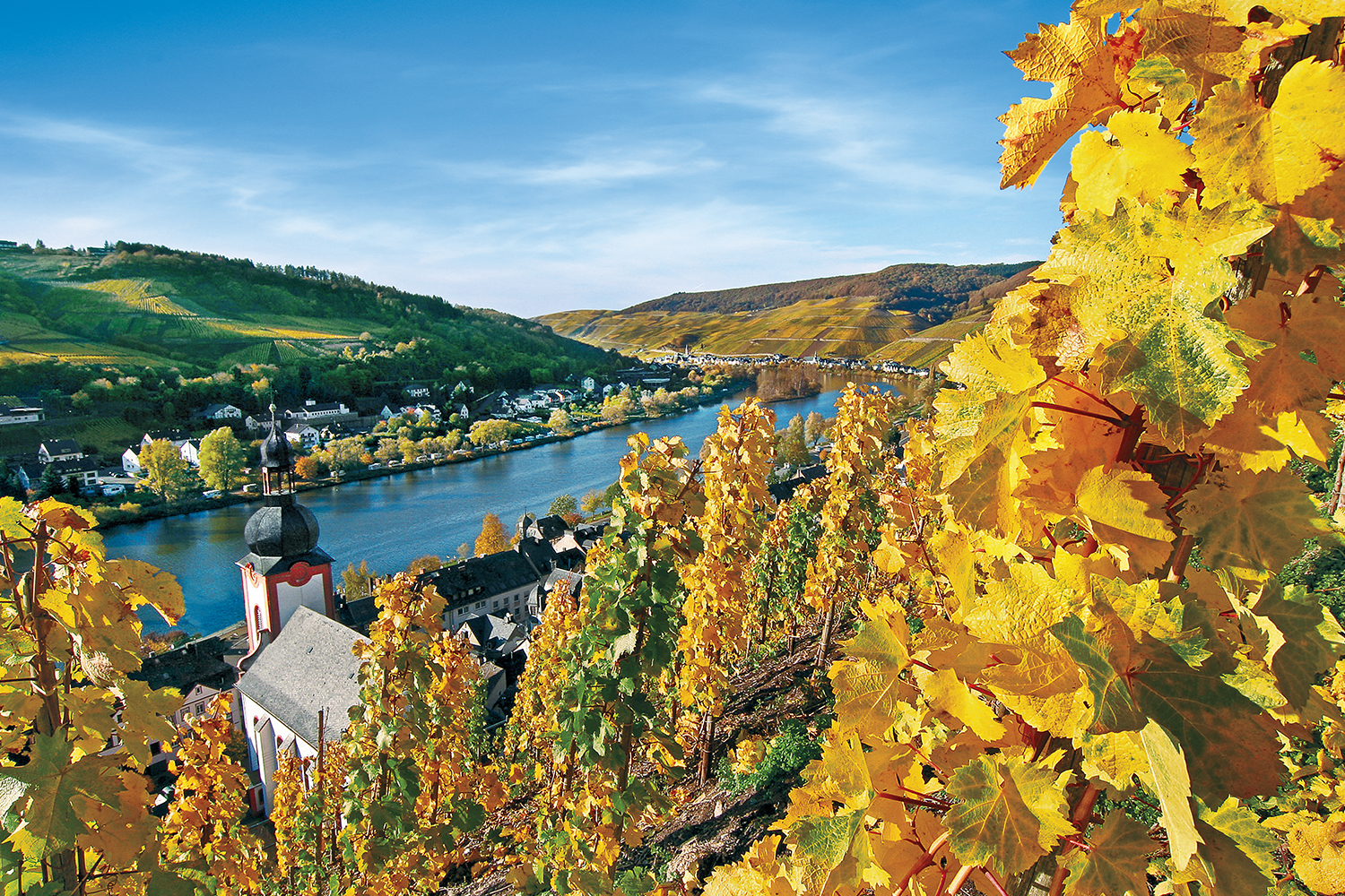 The Mosel, Main and Rhine