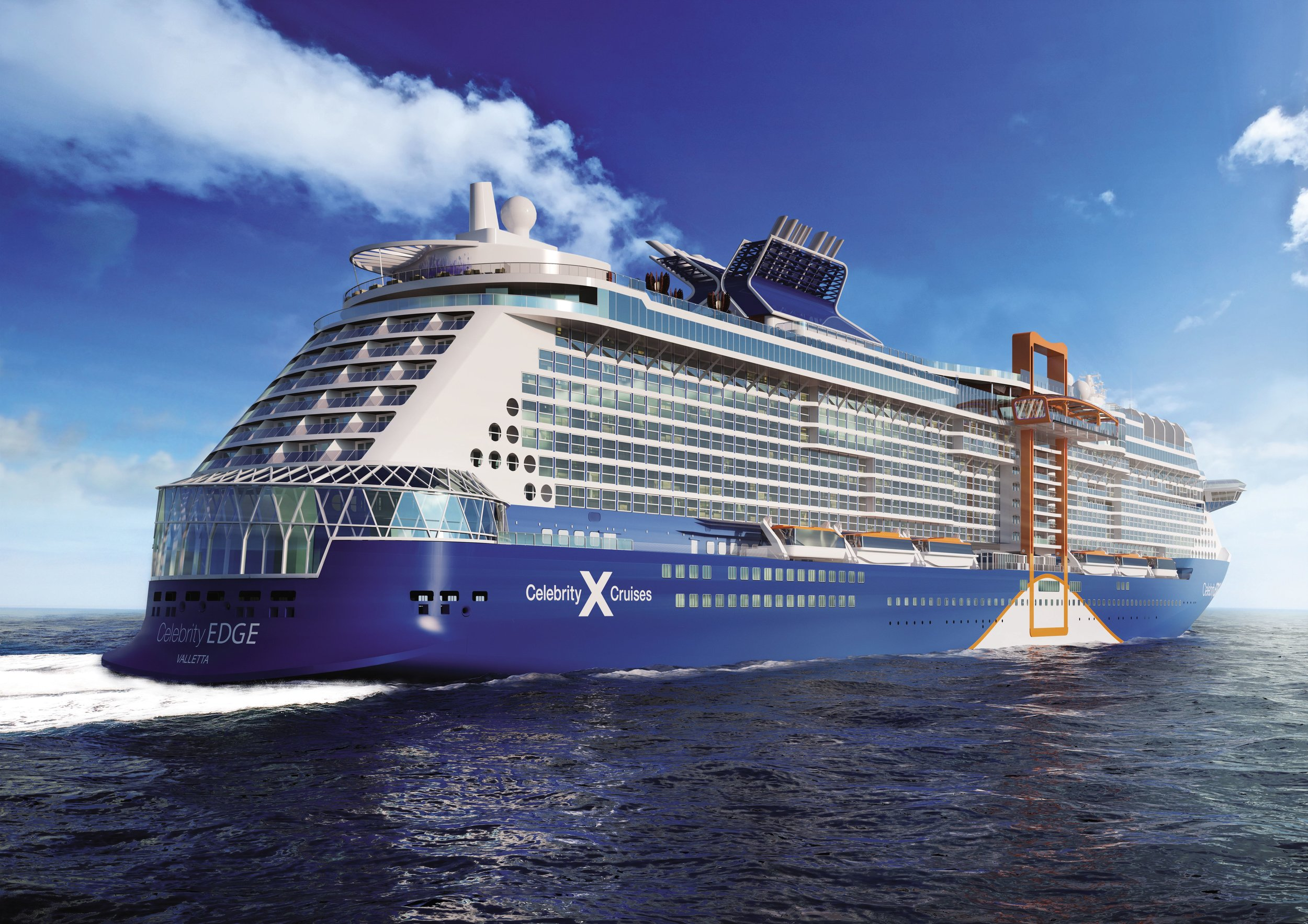 New celebrity edge is here - Be the first on board.