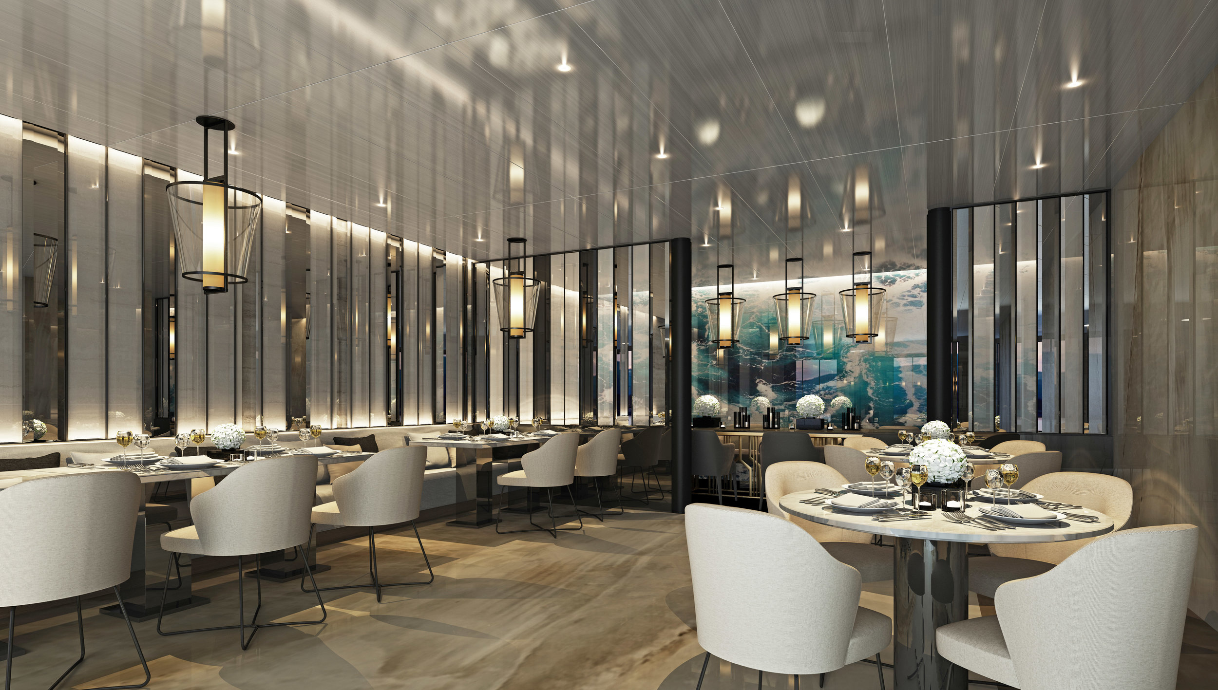 Scenic Eclipse Elements Private Dining
