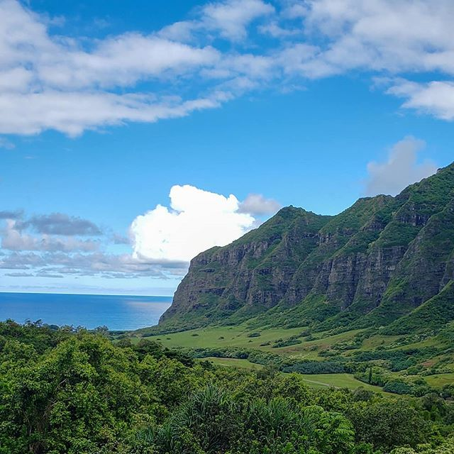 Hawaii, where simply looking out into the landscape can give you the most intense satisfaction. . . . #hawaii #hawaii2019 #hawaiilife #kualoaranch #wanderlust #wanderer #travel #igtravel #passionpassport #instatraveling #abmtravelbug #abmlifeiscolorful #beautifuldestinations