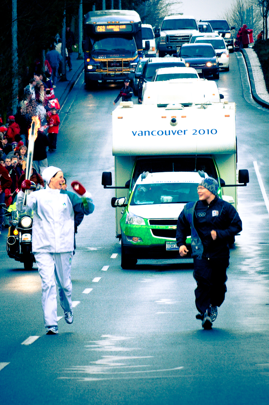 2010 Olympic Torch Relay, Day 102
