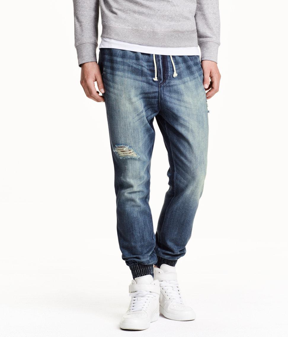 H&M |  Denim Jogger Pants