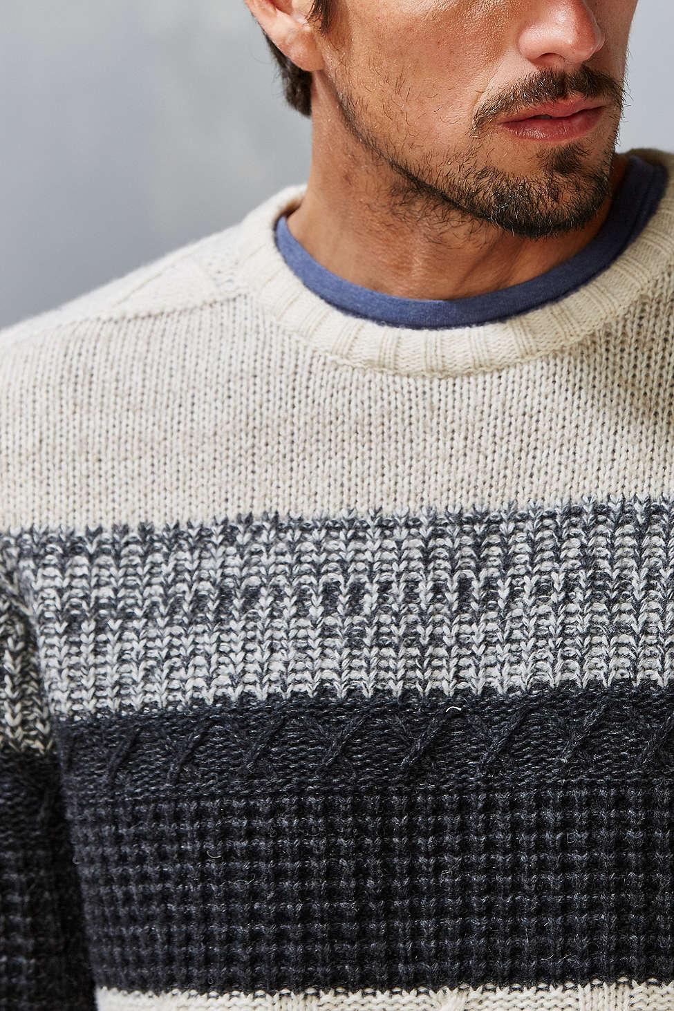 Urban Outfitters | CPO Woburn Aran Stripe Sweater