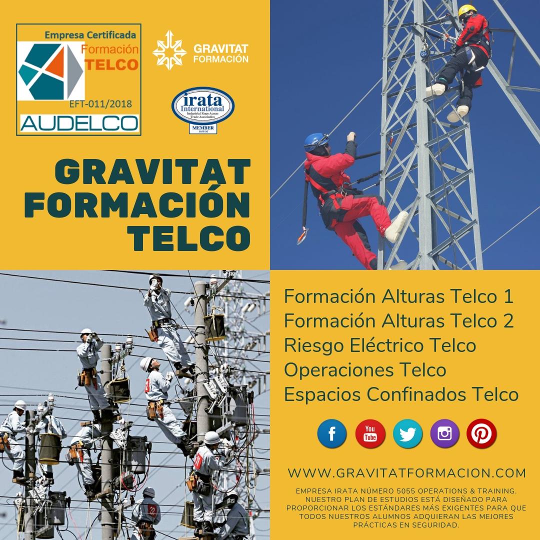 TELCO - El proyecto TELCO Formación es un proceso de estandarización de los requisitos formativos en materia de PRL del Sector de las Telecomunicaciones (en adelante TELCO).