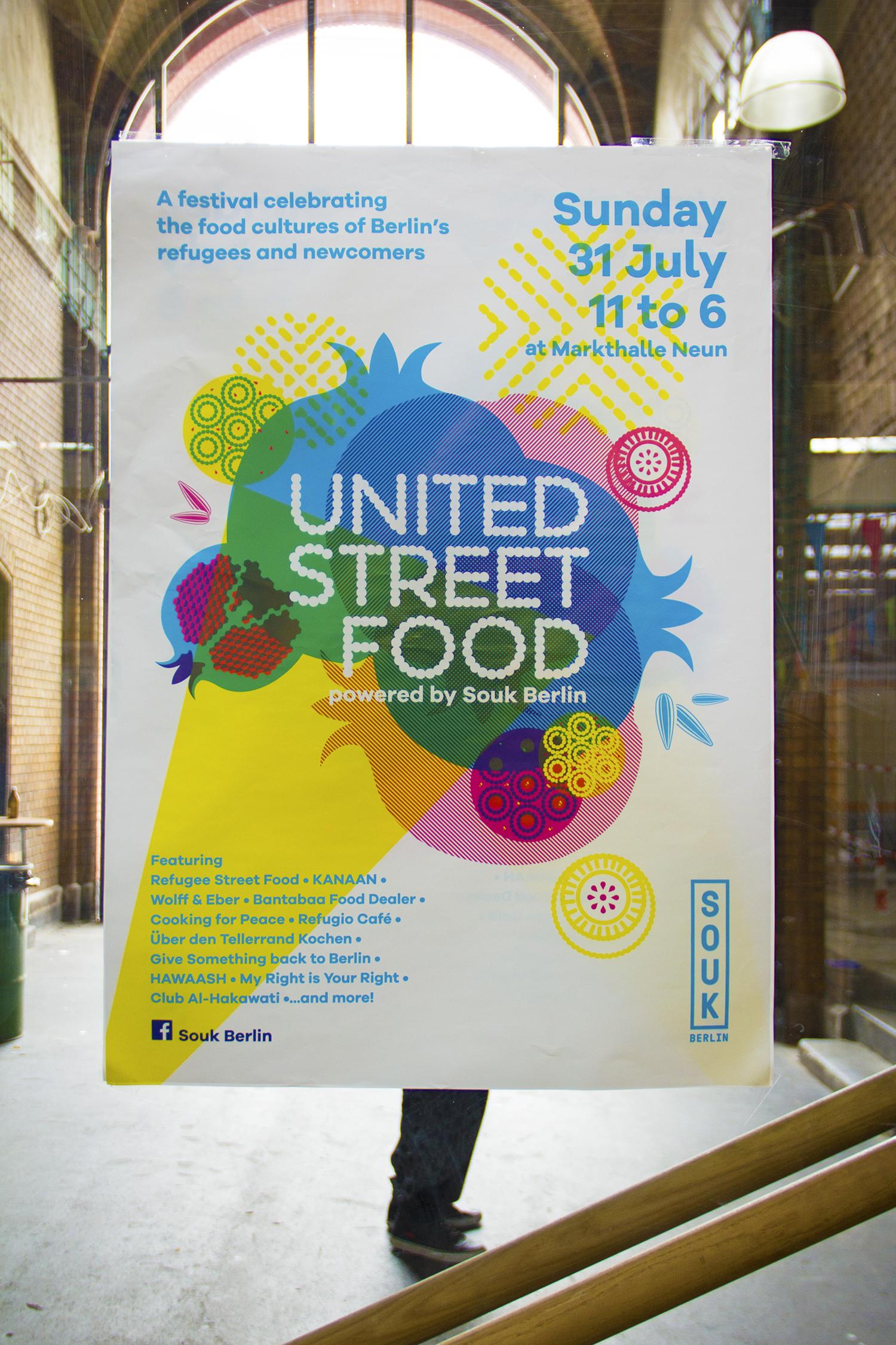 United Street Food Poster