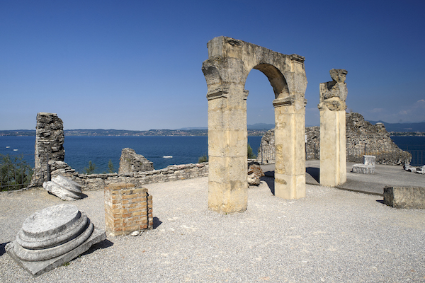 Just a short distance from us, Sirmione, the poets' peninsula