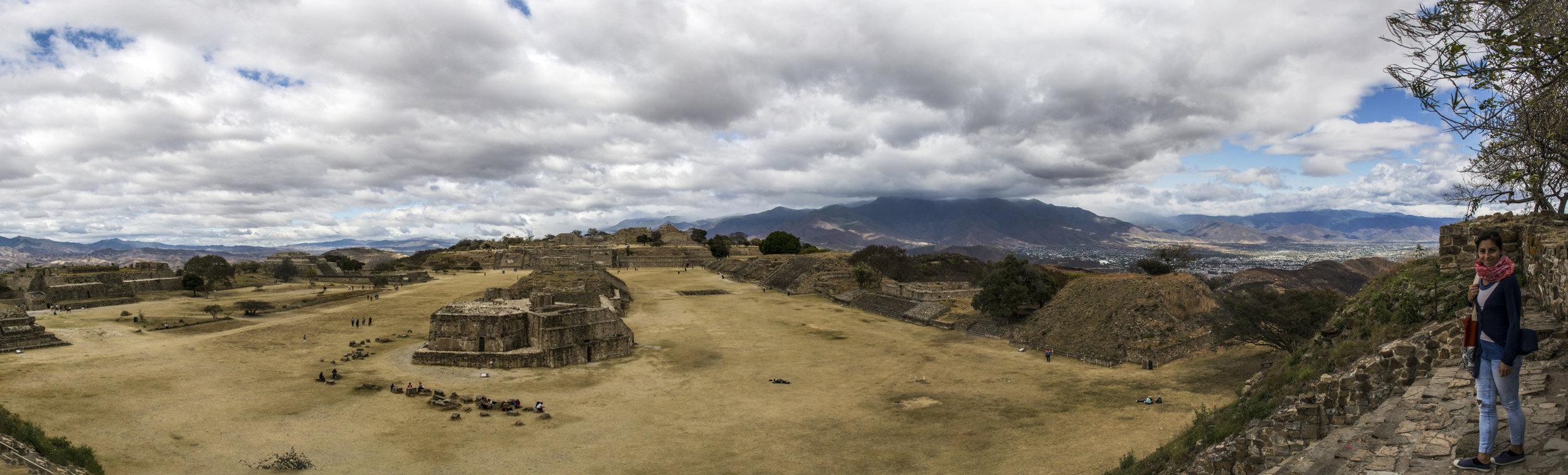 Monte Alban Ruins in Oaxaca