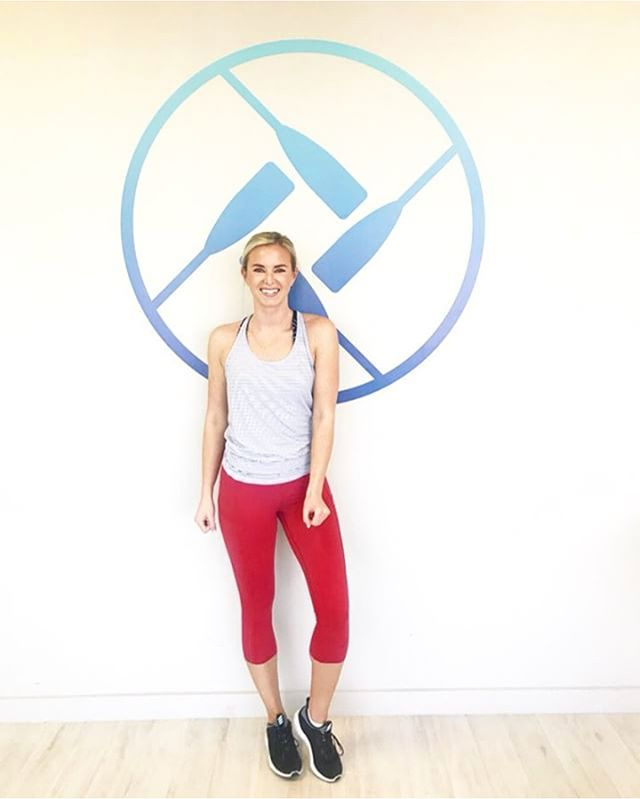 """EVERYONE swoons when @thebayblonde walks into Crew 💙💙💙 We are also swooning over what she has to say about class! • • • """"I've been doing @crewfitness1 for almost 2 years and I have never loved a workout class more."""""""