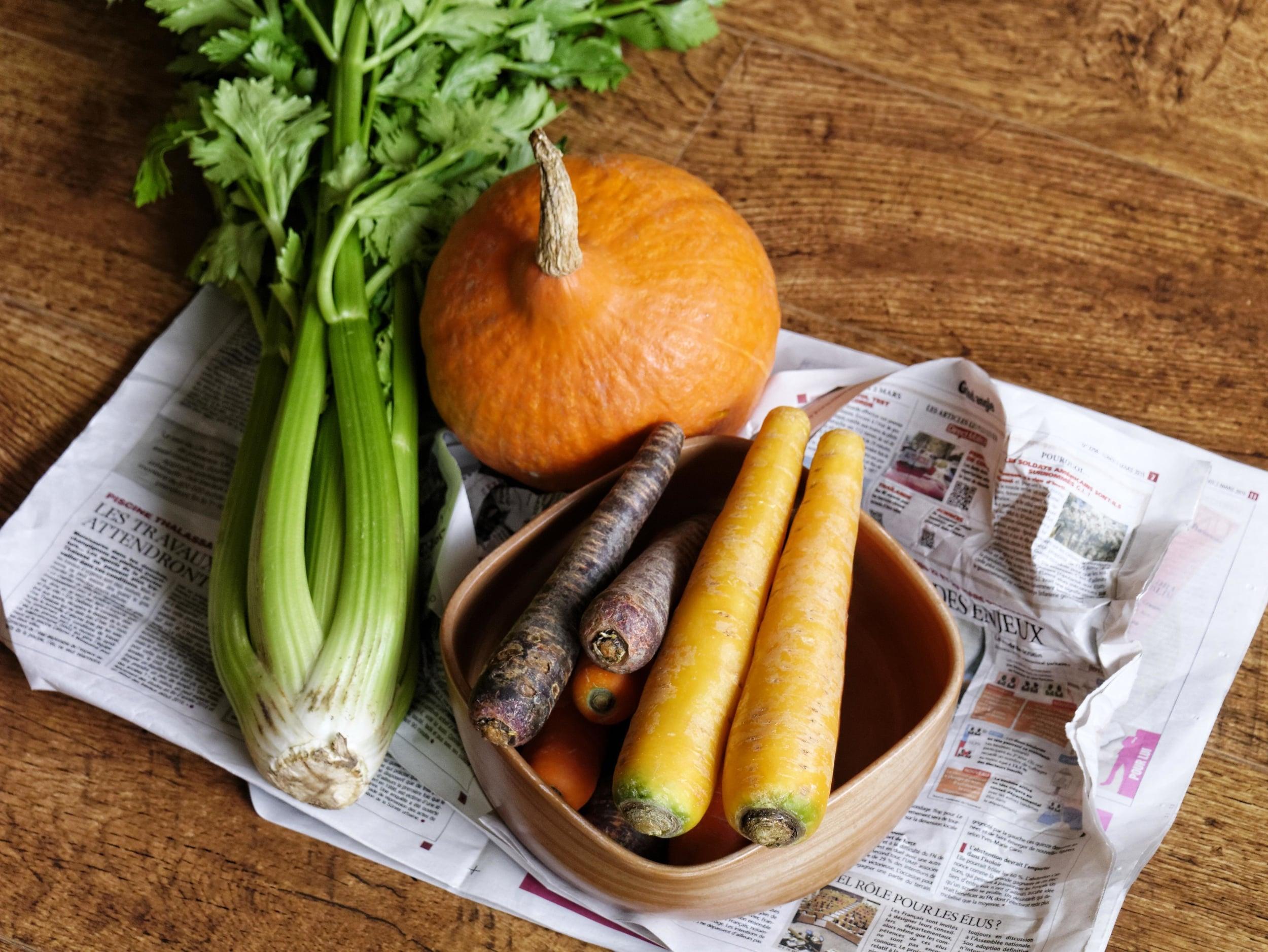 Légumes d'hiver par Marc Straeten, photo offerte gracieusement sur  DTTSP