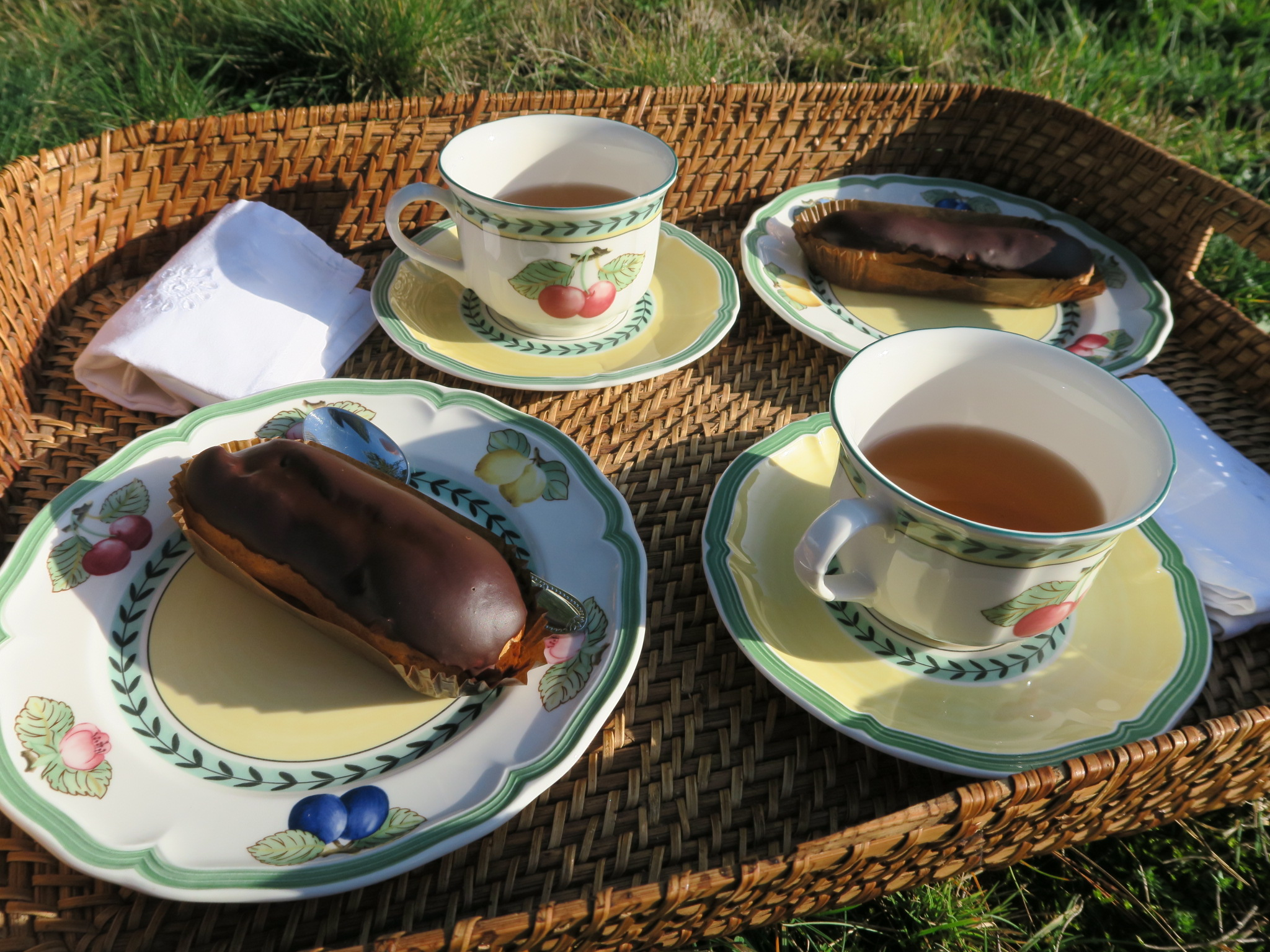 Chocolate eclairs glutenfree and milkfree recipes