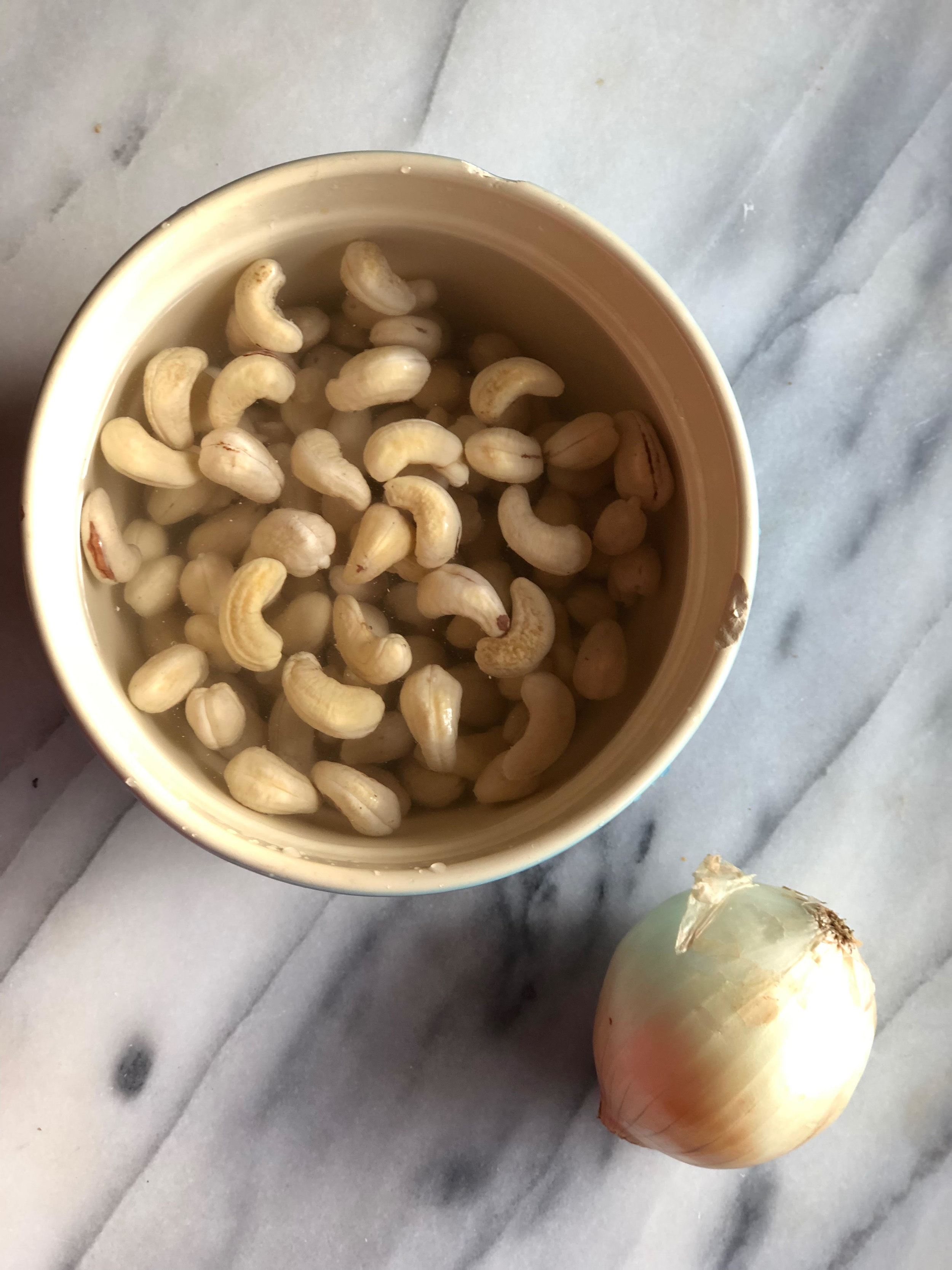 "Plant Based ""Mayo"" - ngredients:1/2 cup of cashews (soaked 3-4 hours or overnight)1/4 - 1/2 cup of water, add slowly for desired consistency1 1/2 teaspoons of lemon juice2 1/4 teaspoons of apple cider vinegar1/8+ teaspoon of salt (to taste)Put everything in a blender (or smoothie maker) and blend. Add water to get desired consistency. You can adjust the ingrediants for taste, or double the amount for more. I save in a jar for 3-4 daysThe recipe can be doubled for more"