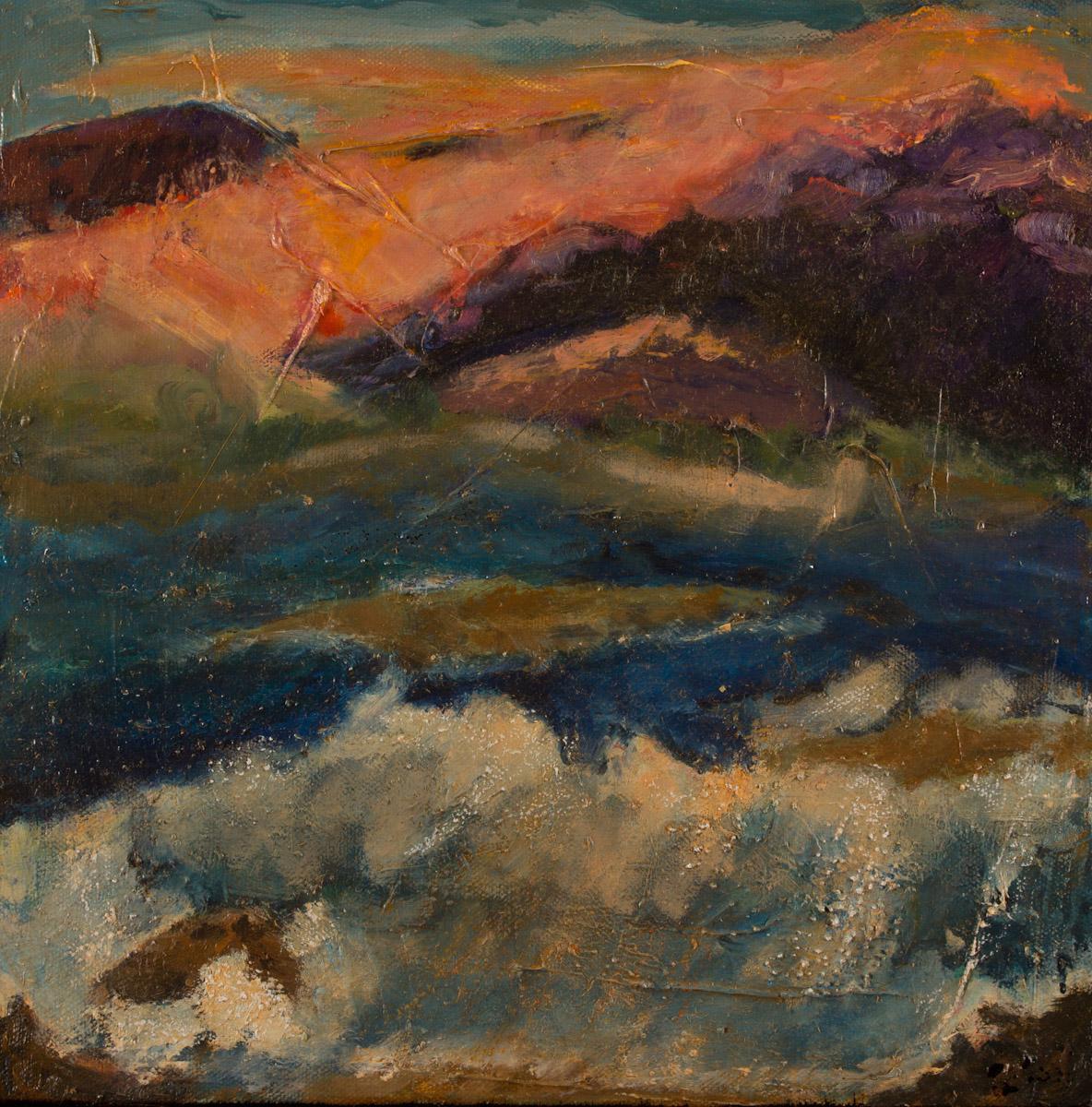 Purple Mountain's Evening