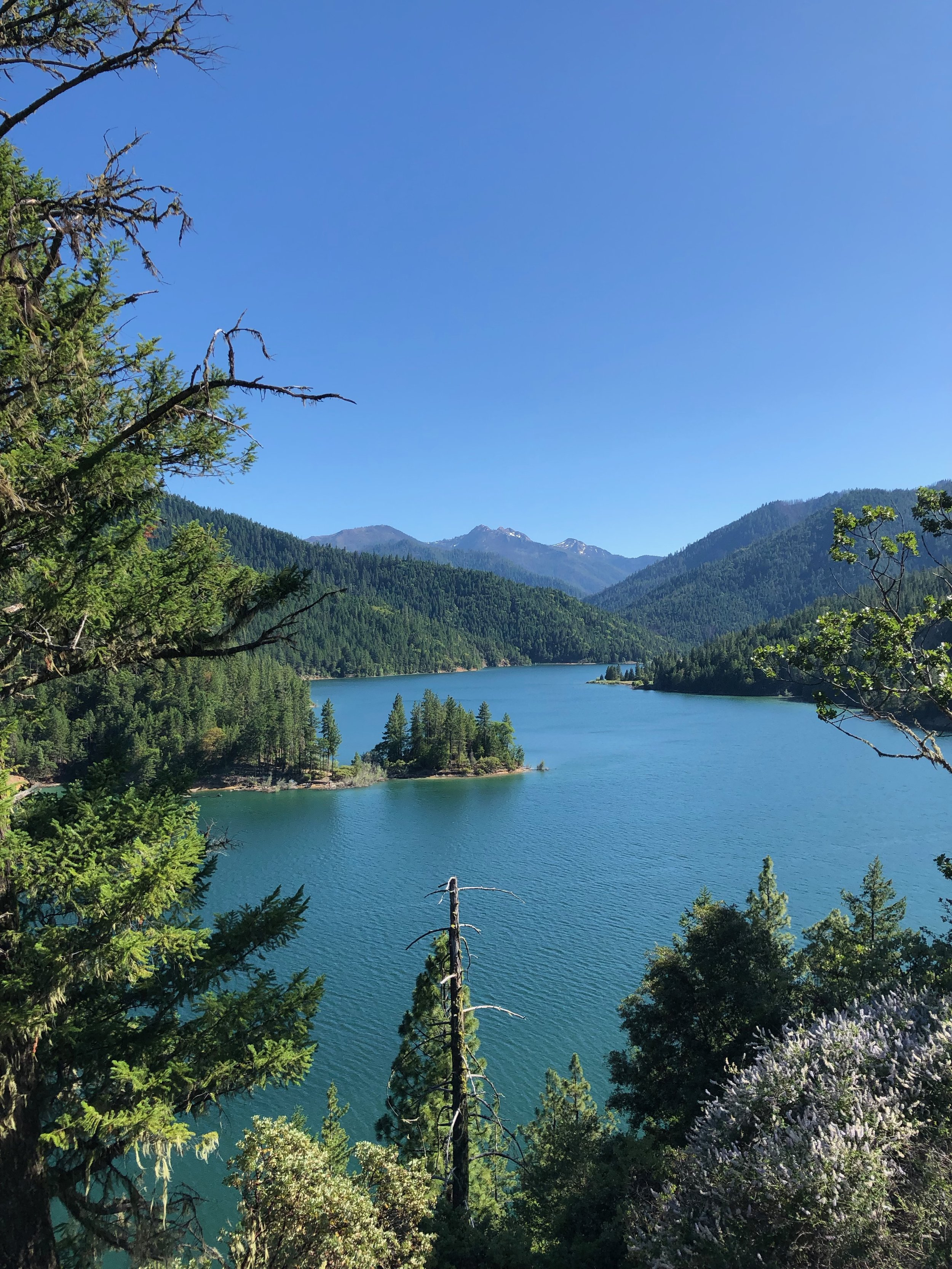 Applegate Lake quickly became a favorite spot.