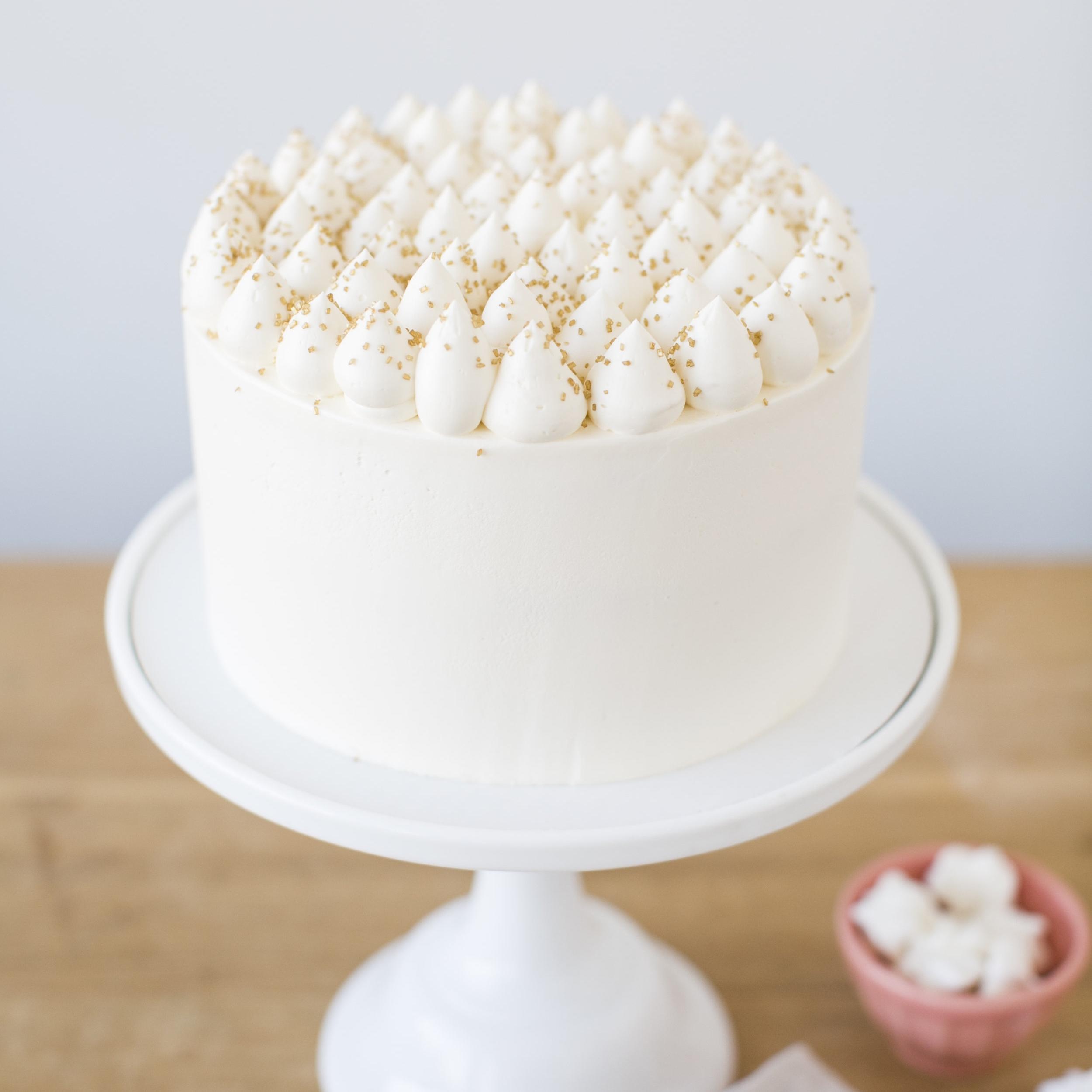 Lemon Cream Cake    Lemon cake, cream cheese filling with lemon buttercream    $60