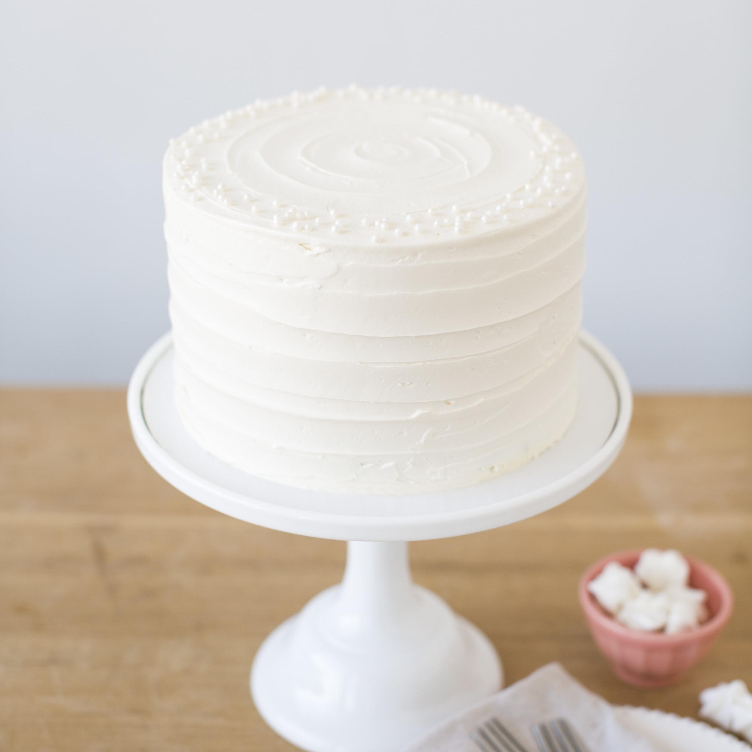 Red Velvet  Red velvet cake, cream cheese filling and vanilla buttercream  $47