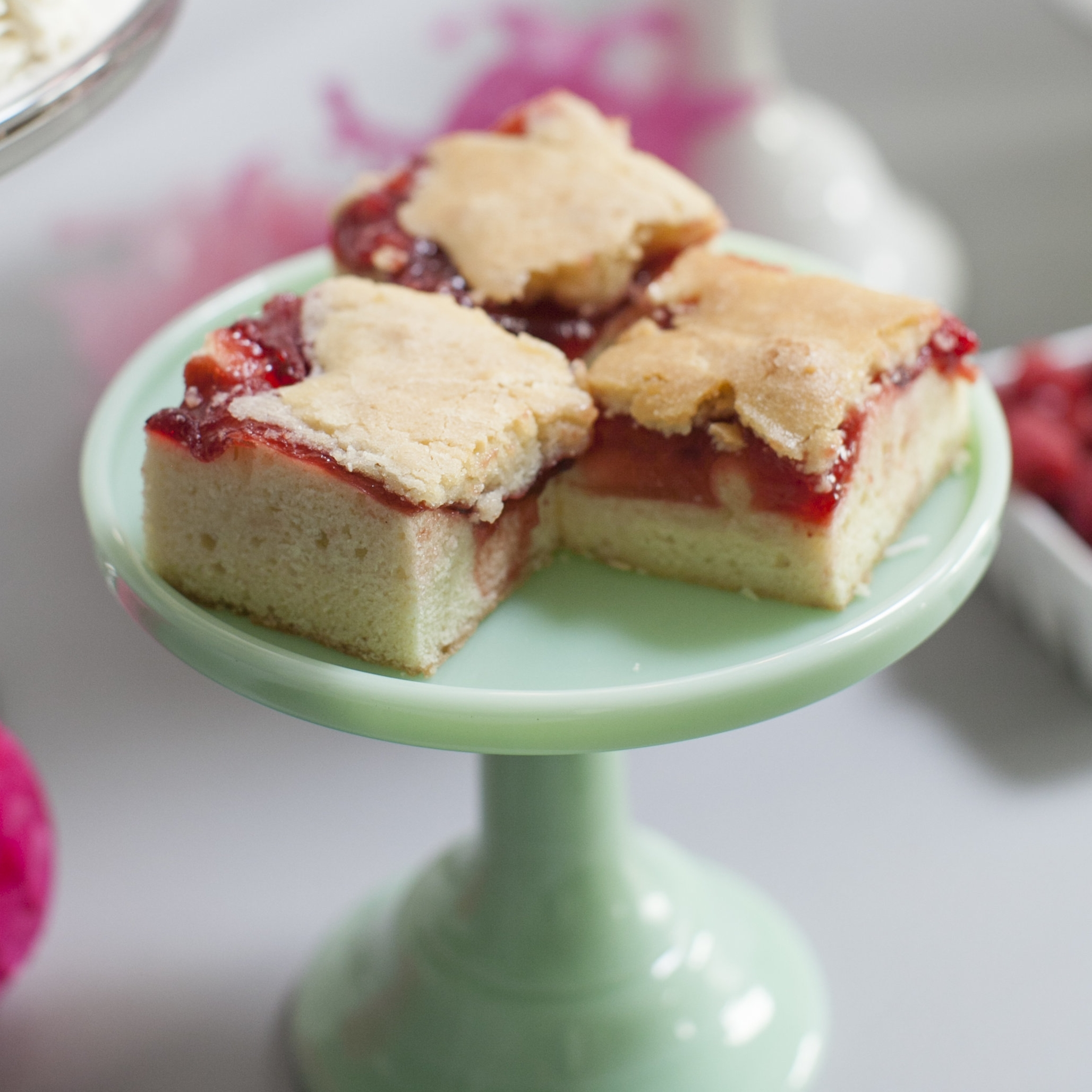 Pie Bars  Available in Cherry, Raspberry or Blueberry