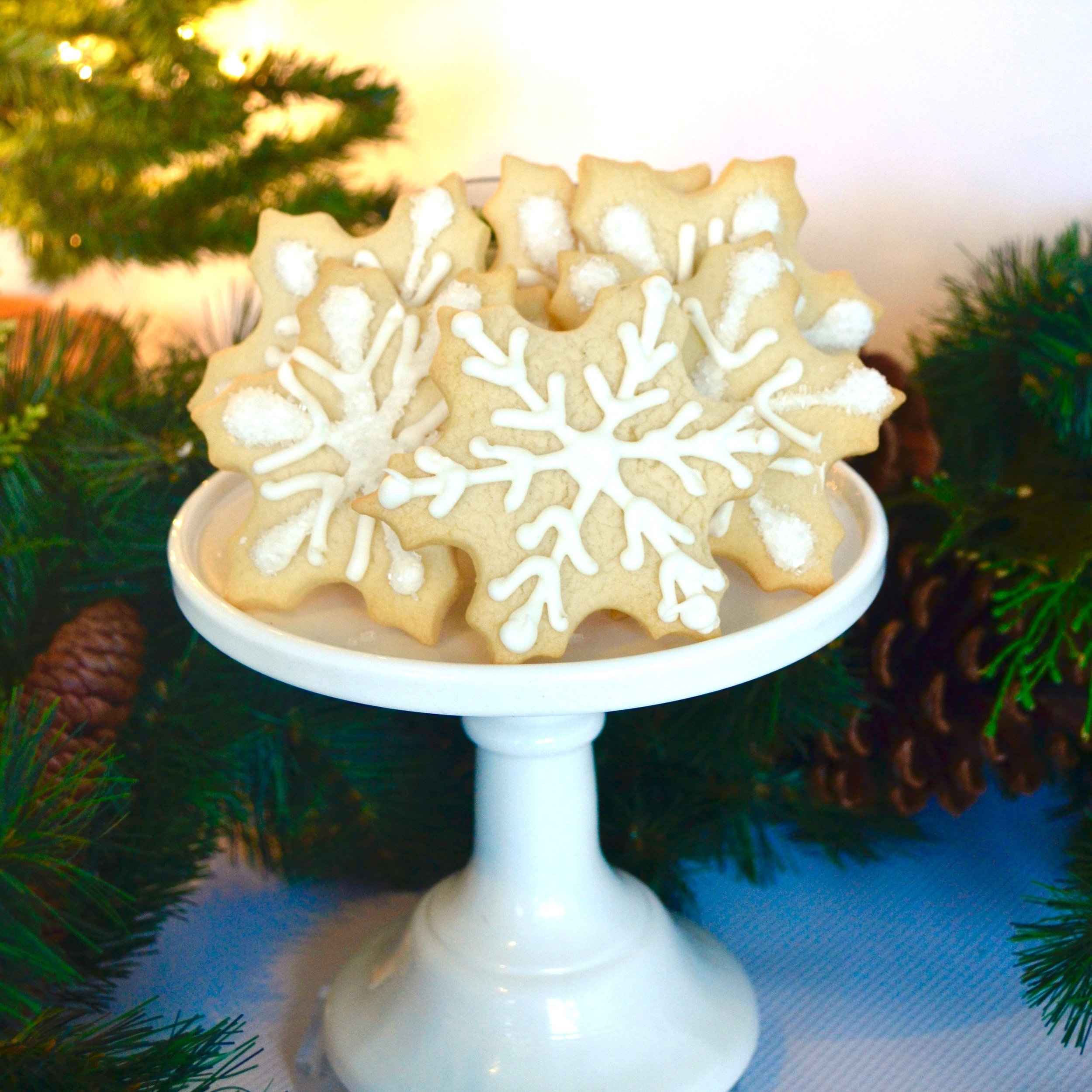 Snowflake Cookies   Classic design, one dozen   $40