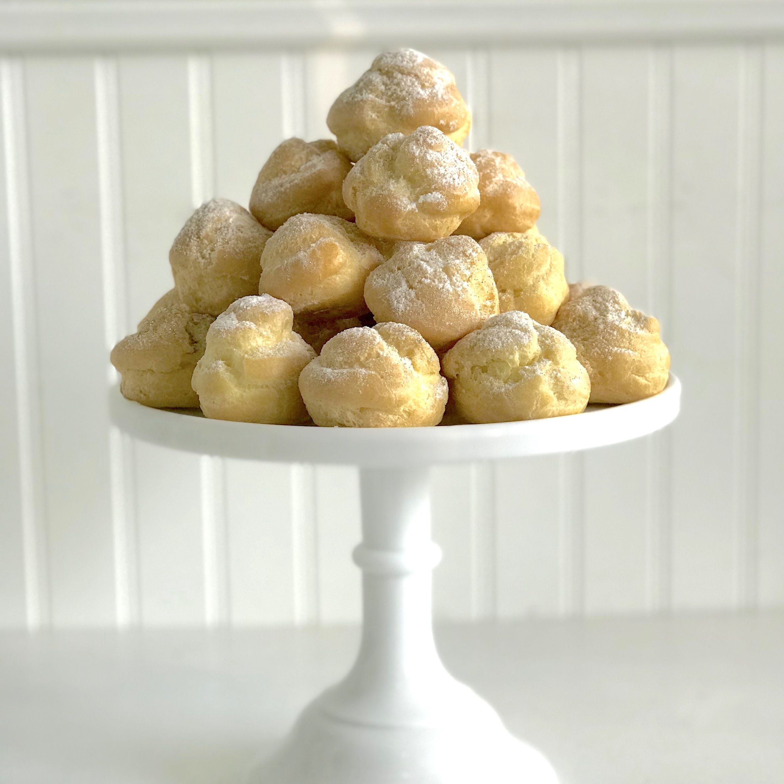 Cream Puffs  More than 10 filling options!   $30