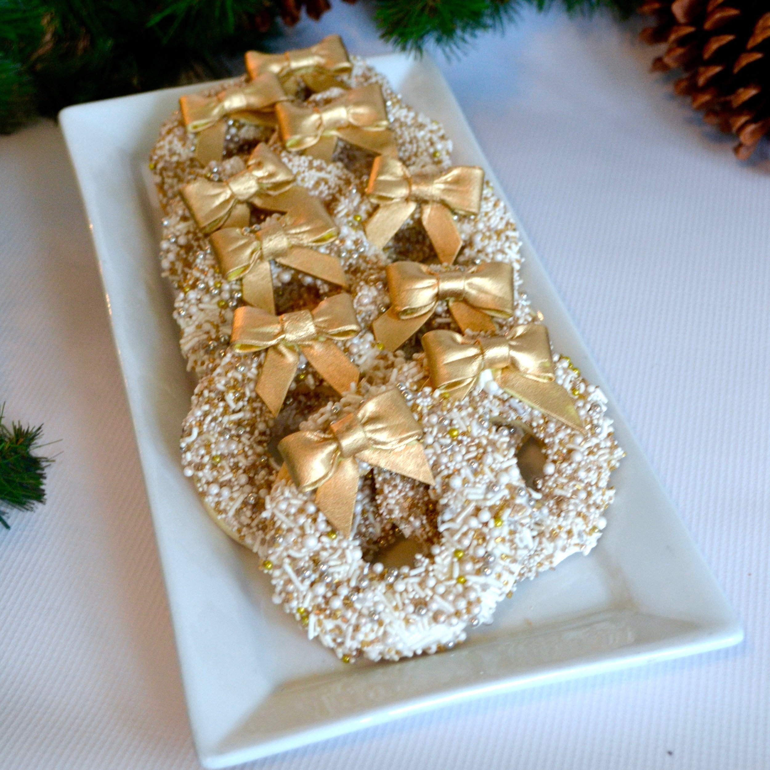 Holiday Wreath Cookies  Our most requested holiday cookie!   $40
