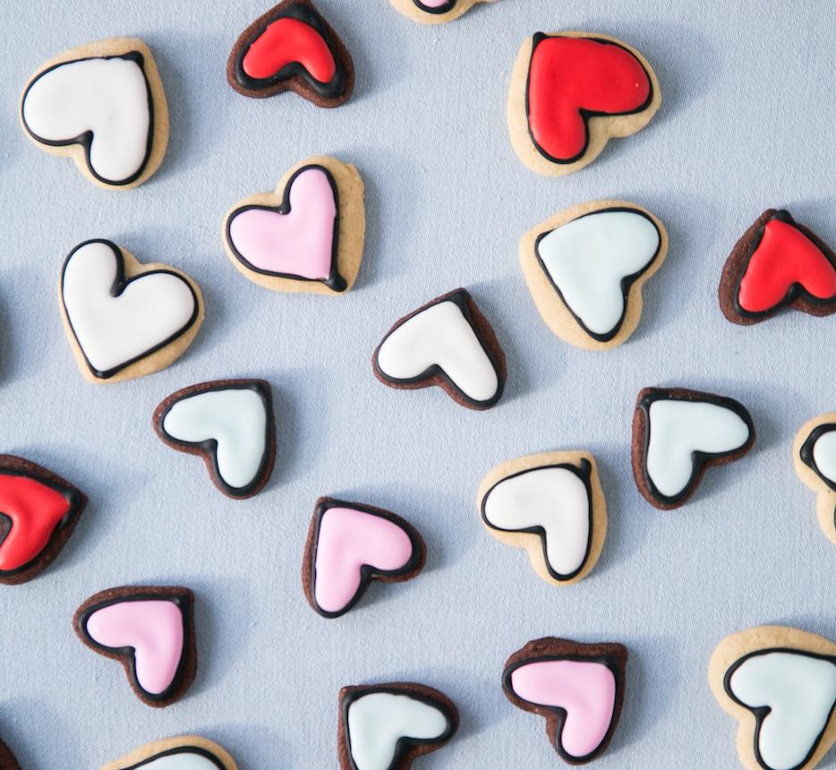 Heart Sugar Cookies   $40