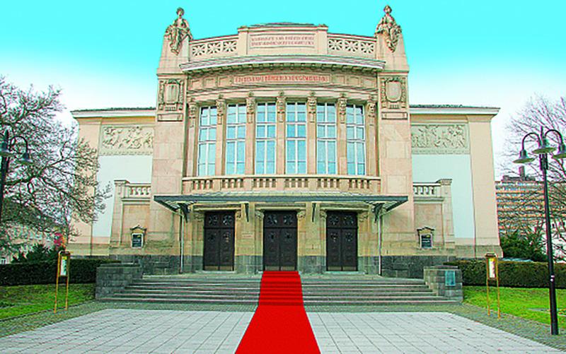 Stadttheater Gießen (Foto und Montage: Oliver Schepp)